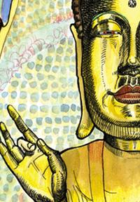 Jogeysa Buddha, by Tommy Kane