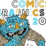 Poster design for the 2011 Brooklyn Comics and Graphics Festival, by Lisa Hanawalt