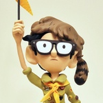 Sam sculpture (inspired by Moonrise Kingdom), by Julian Callos