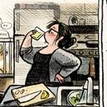 A comic for Saveur Magazine, by Laura Park