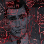 A portrait of Rod Serling, by Koren Shadmi