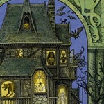 Illustrations from Storyworld, Tales from the Haunted House, by Tomislav Tomić
